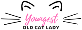 Youngest Old Cat Lady Logo
